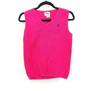 Lilly Pulitzer Knit Womens Sweater Vest Top M